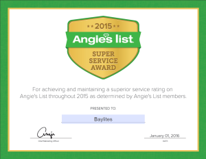 Baylites - outdoor landscape lighting - Angie's Super Service Award Winner