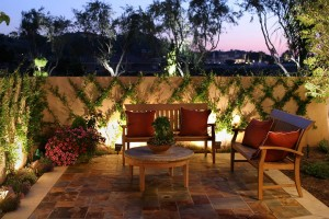 Baylites - outdoor landscape lighting designs - garden patio