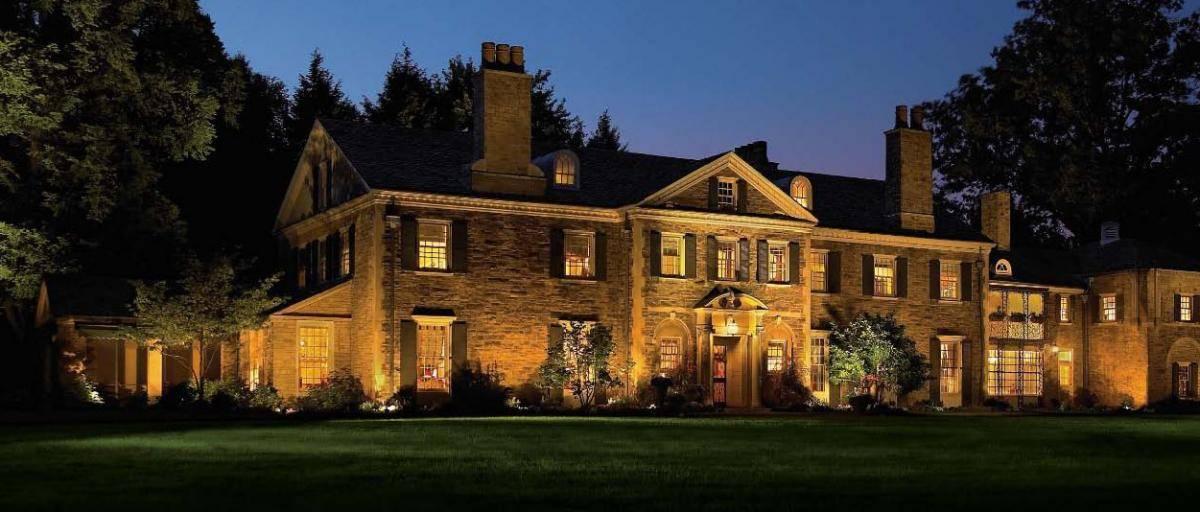 Baylites - outdoor landscape lighting - front of house